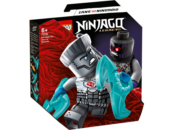 LEGO® NINJAGO® 71731 Battle Set: Zane vs. Nindroid