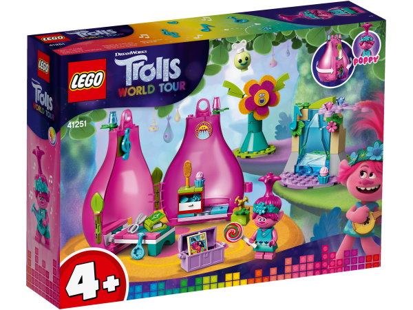 LEGO® Trolls World Tour 41251 Poppys Wohnblüte