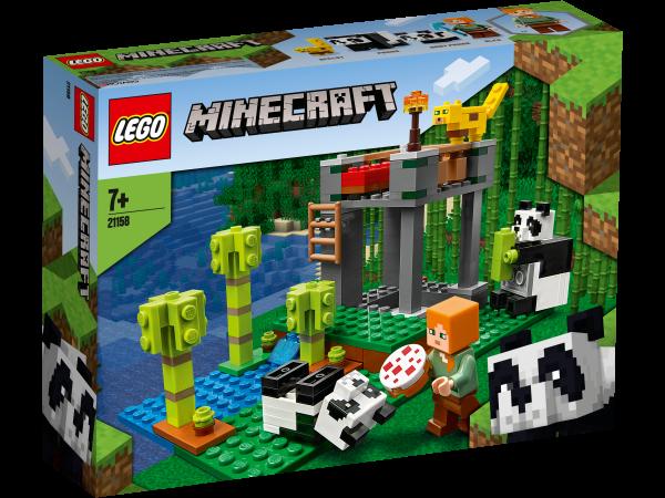LEGO® Minecraft™ 21158 Der Panda-Kindergarten