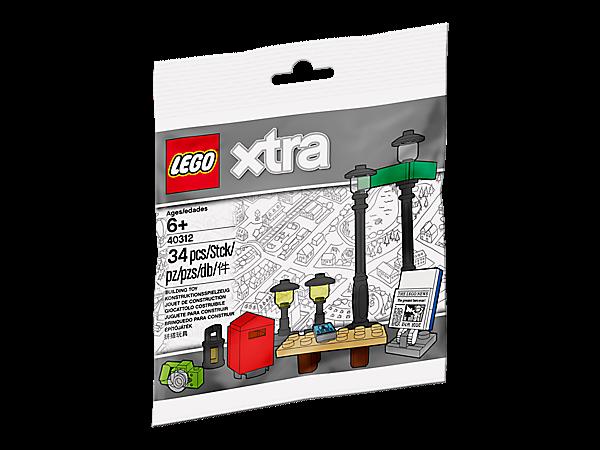 LEGO® xtra 40312 Straßenlaternen