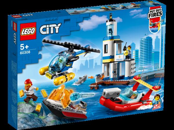 LEGO® City 60308 Polizei und Feuerwehr im Küsteneinsatz