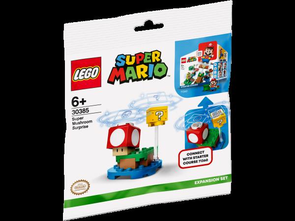 LEGO® Super Mario™ 30385 Superpilz Überraschung – Erweiterungsset Polybag