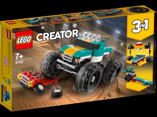 LEGO® Creator 3-in-1 31101 Monster-Truck