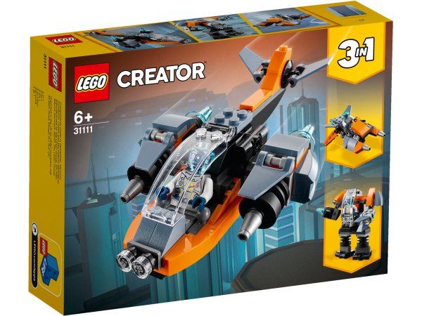 LEGO® Creator 3-in-1 31111 Cyber-Drohne
