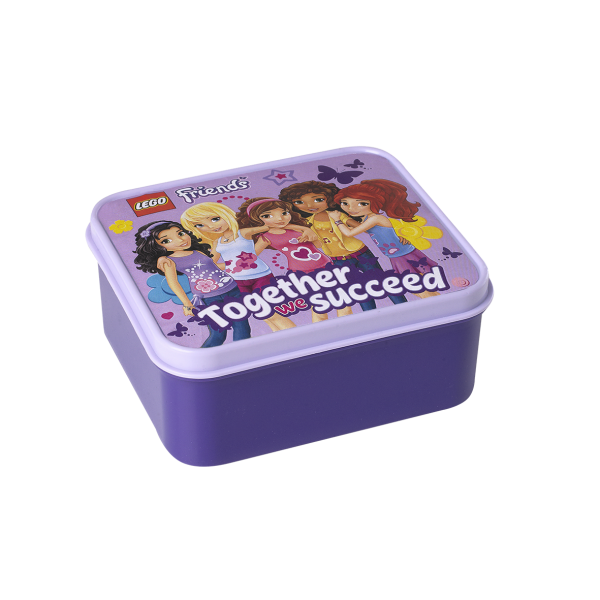 LEGO® Friends Lunch Box in Lavendel Brotdose Jausenbox