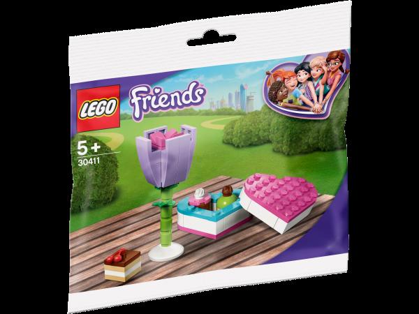 LEGO® Friends 30411 Pralinenschachtel & Blume Polybag