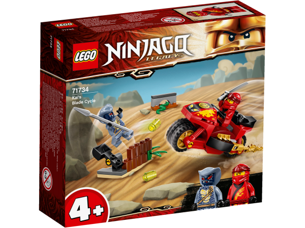 LEGO® NINJAGO® 71734 Kais Feuer-Bike