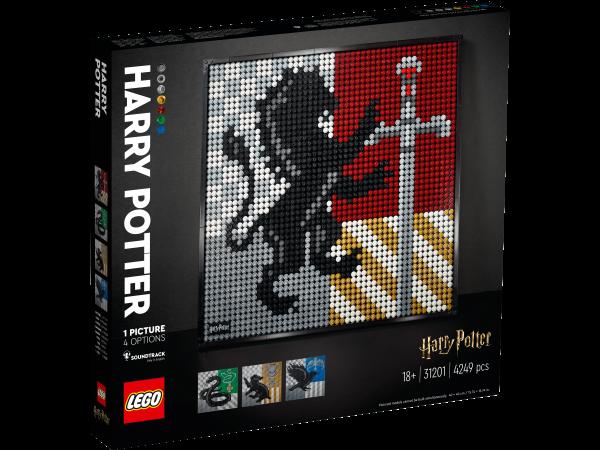 LEGO® Art 31201 Harry Potter™ Hogwarts™ Wappen