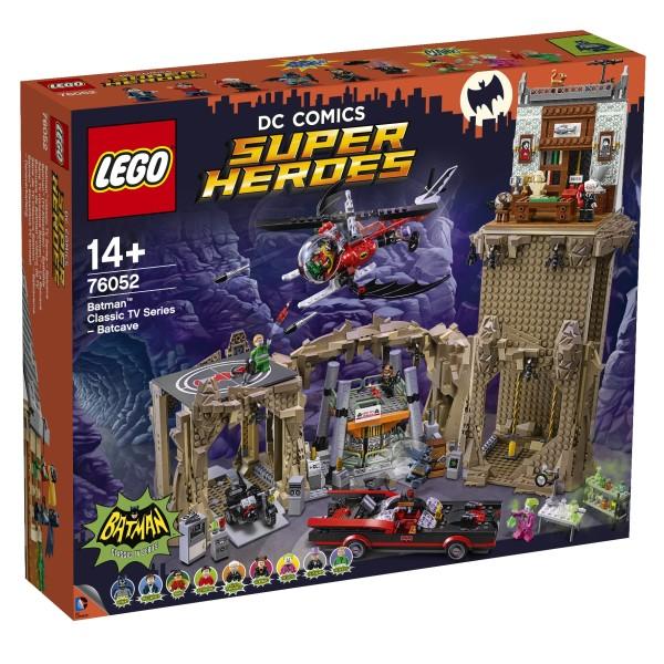 LEGO® DC Comics™ Super Heroes 76052 Batman™ (TV-Klassiker) – Bathöhle - Karton leicht beschädigt