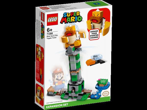 LEGO® Super Mario™ 71388 Kippturm mit Sumo-Bruder-Boss – Erweiterungsset