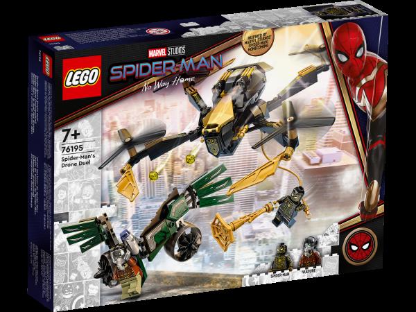 LEGO® Marvel Super Heroes 76195 Spider-Mans Drohnenduell