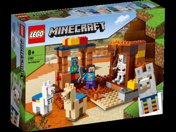 LEGO® Minecraft™ 21167 Der Handelsplatz