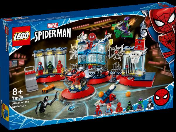 LEGO® Marvel Super Heroes 76175 Angriff auf Spider-Mans Versteck - Karton leicht beschädigt