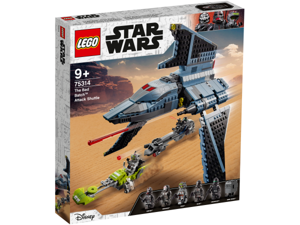 LEGO® Star Wars™ 75314 Angriffsshuttle aus The Bad Batch™