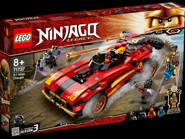 LEGO® NINJAGO® 71737 X-1 Ninja Supercar