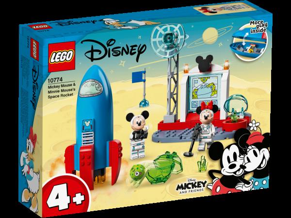 LEGO® Disney™ Micky und Freunde 10774 Mickys und Minnies Weltraumrakete